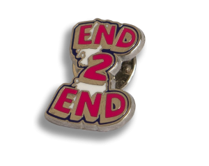End 2 End ping badge